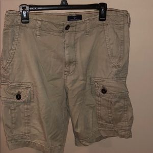 American Eagle Khaki shorts